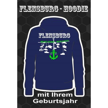 Flensburg Hoodies Purple