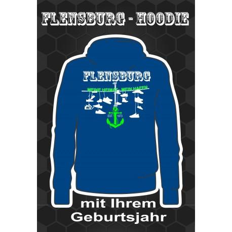 Flensburg Hoodies Bright Royal