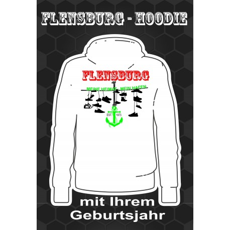 Flensburg Hoodies White