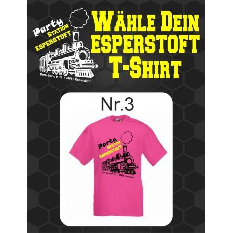 T-Shirt Esperstoft Fuchsia