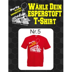 T-Shirt Esperstoft Red Nr. 5