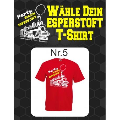 T-Shirt Esperstoft Red Nr. 5
