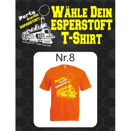 T-Shirt Esperstoft  Orange Nr. 8