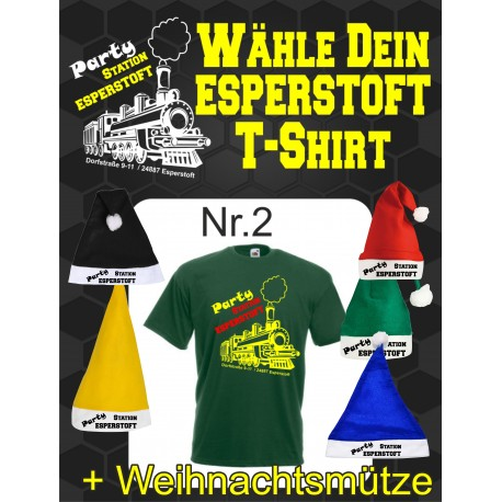 T-Shirt Esperstoft Bottle Green Nr. 2
