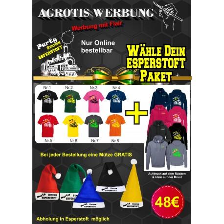 T-shirt, Hoodie, Mützen Paket