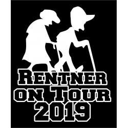 Aufkleber Rentner on Tour