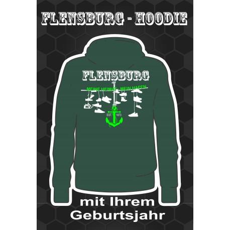 Flensburg Hoodies Bottle Green