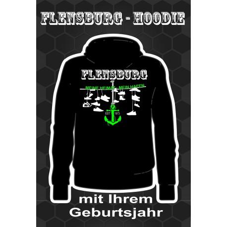 Flensburg Hoodies Black