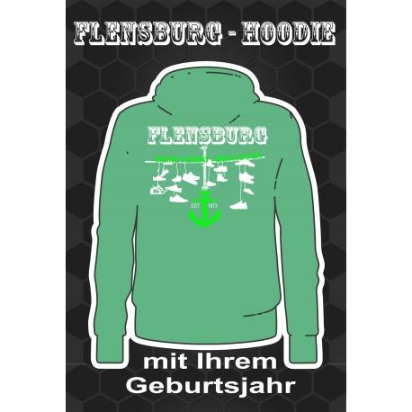 FLENSBURG HOODIES APPLE GREEN