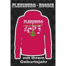 Flensburg Hoodies Fuchsia