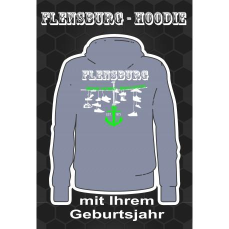 Flensburg Hoodies Conved Grey